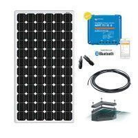 Kit solaire camping car 160W-12V avec fixation