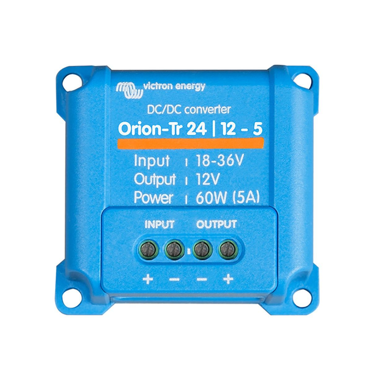 Victron Orion-Tr 24//12-5 60W DC-DC Converter IP67 Non Isolated 24V to 12V 5Amp